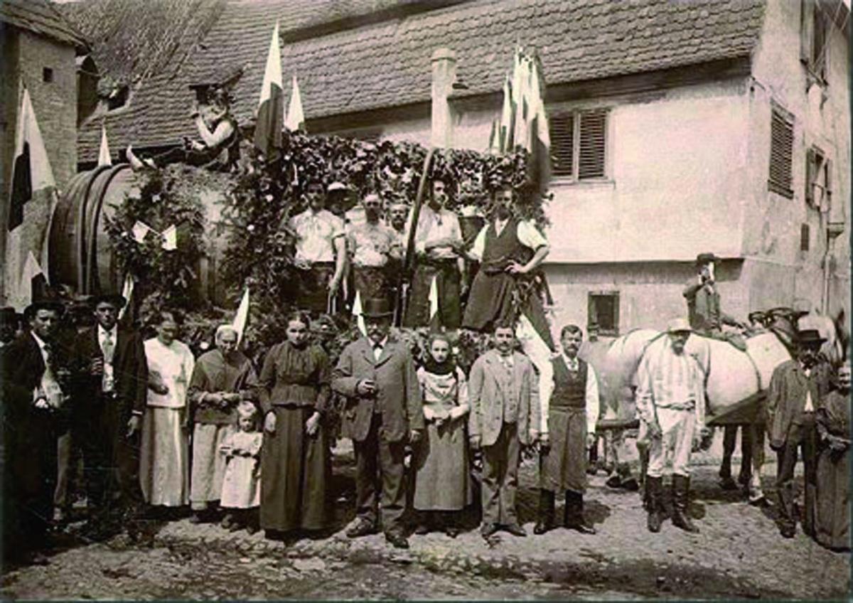 la famille Seilly au début du siècle