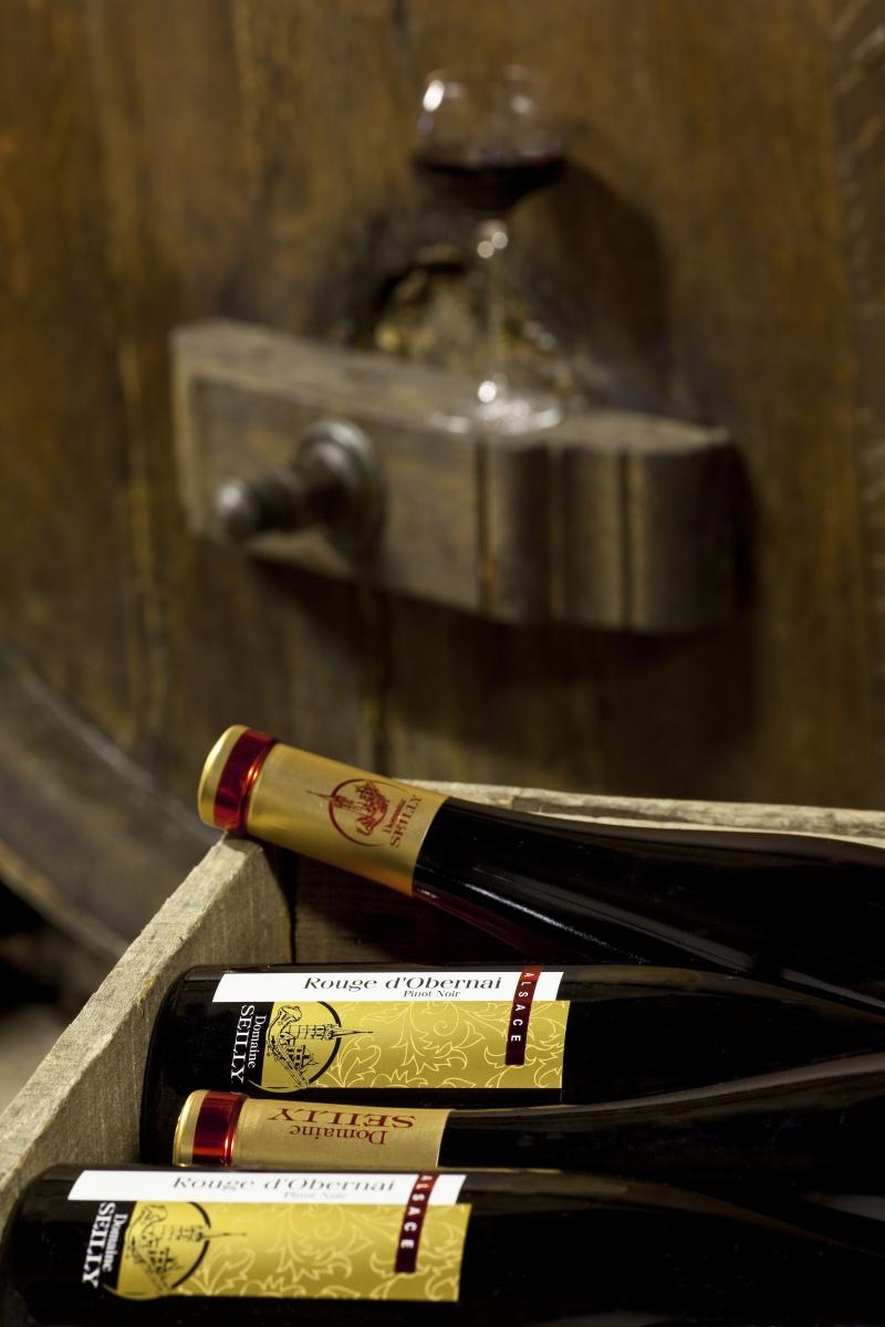 vins rouge d'alsace
